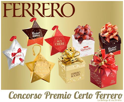 Concorso Premio Certo Ferrero