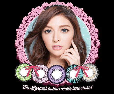 Pinky Paradise Circle Lenses Lenti a contatto colorate lenti graduate accessori