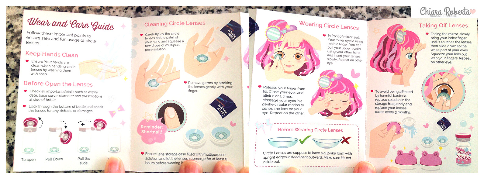 Pinky Paradise Circle Lenses Lenti a contatto colorate lenti graduate accessori