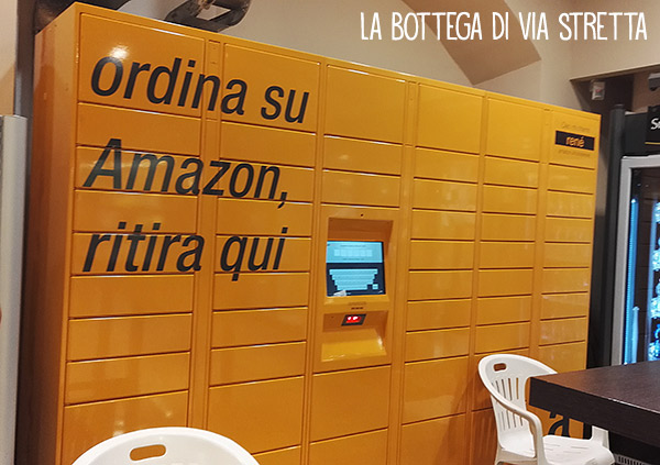amazon locker milano rho unes