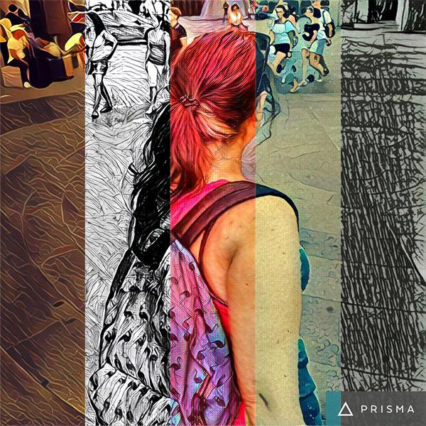 prisma applicazione gratuita modificare foto in opere d'arte con lo smartphone android o apple