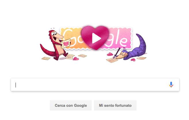 happy-valentine's day doodle google