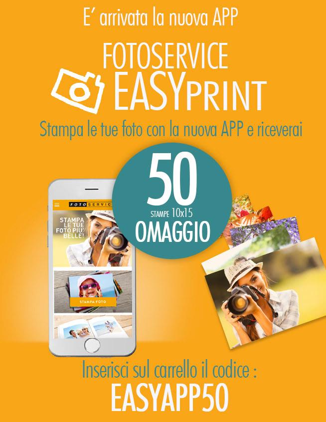 fotoservice codice sconto 50 foto stampe gratis