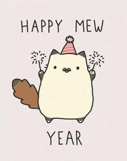 · Happy mew year! ·