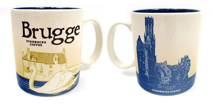 Starbucks mug brugge bruges belgium
